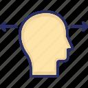 brainstorming, curiosity, head, imagination, mind