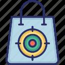 market orientation, marketing, seo, shopping bag, target