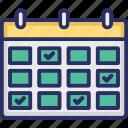 agenda, calendar, dollar, meeting, schedule