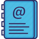 account book, address book, contacts, phone directory, phonebook