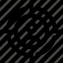 human, man, target, target icon, user, user icon icon