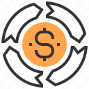 analysis, business, creative, finance, marketing, money, strategy icon