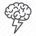 brain, brainstorm, business, creative, idea, mind, think icon