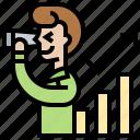 business, increasing, prediction, profit, vision