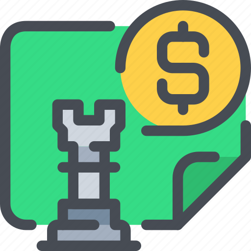 bank, business, finance, financial, planning, strategy icon