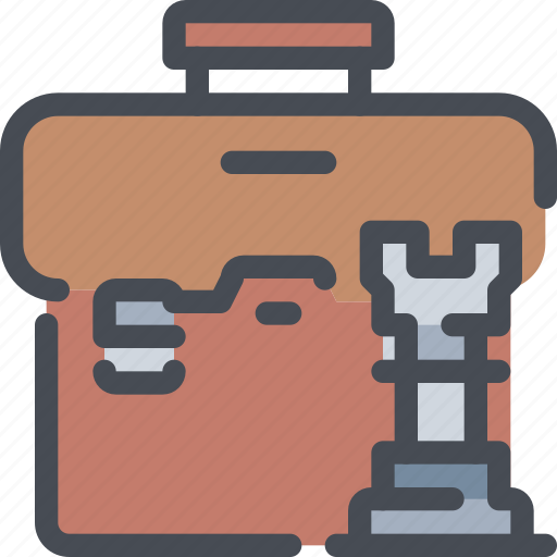 bag, business, case, plan, planning, solution, strategy icon