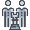business, man, person, planning, strategy, team, teamwork icon