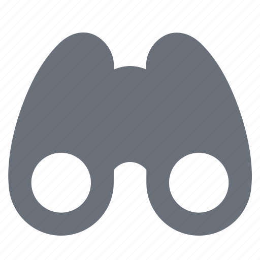 binoculars, business strategy, field glasses, opera glasses, pika, simple icon