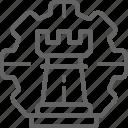 business, chess, gear, piece, strategy, wheel