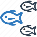 fish, seefood icon