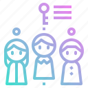 client, hr, human, key, people, resources, target icon