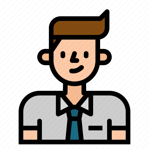 avatar, business, man, people, user, worker icon