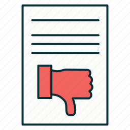 appeal, claim, complaint, document, file, office, page icon