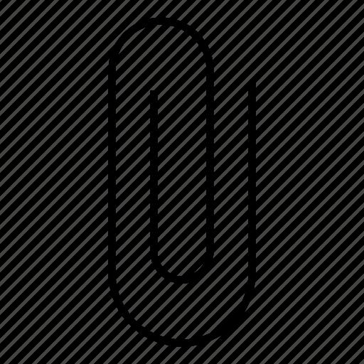 attach, attachment, bonding, clip, file, paper icon