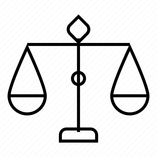 balance, balancingact, business, justice, law, money, scale icon