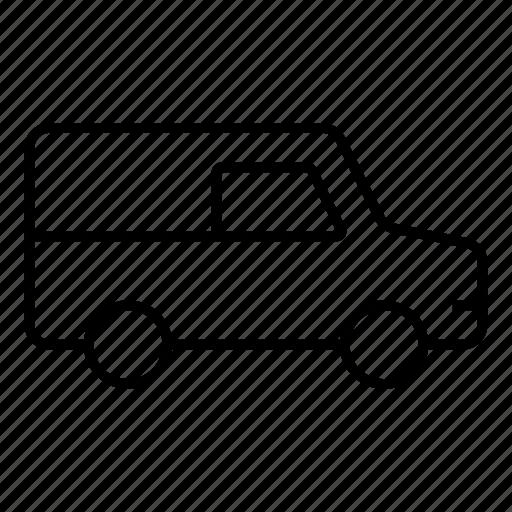 car, delivery, transitvan, transport, van, vanfleet, vehicle icon