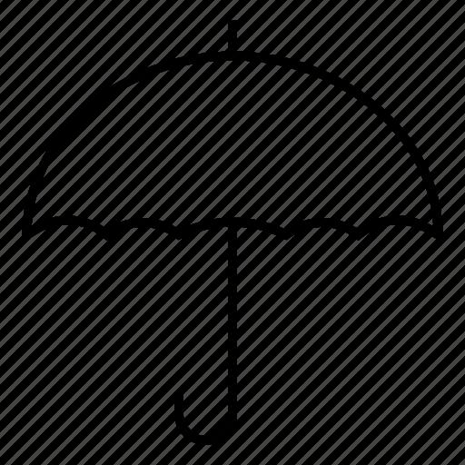 insurance, insuranceumbrella, protection, rain, umbrella, weather, whiteumbrella icon