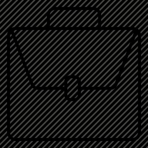 bag, briefcase, business, gallery, portfolio, portfoliocase, portfolioicon icon