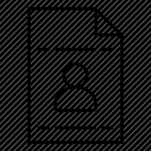 account, avatar, businessprofile, person, portrait, profile, user icon