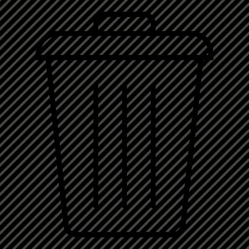 cancel, close, delete, eraser, removals, remove, trash icon