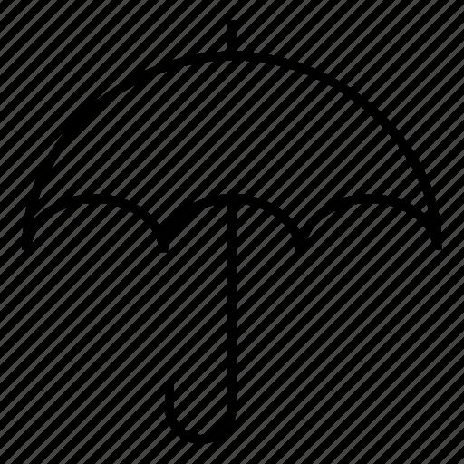 beachumbrella, insurance, protection, rain, redumbrella, umbrella, weather icon