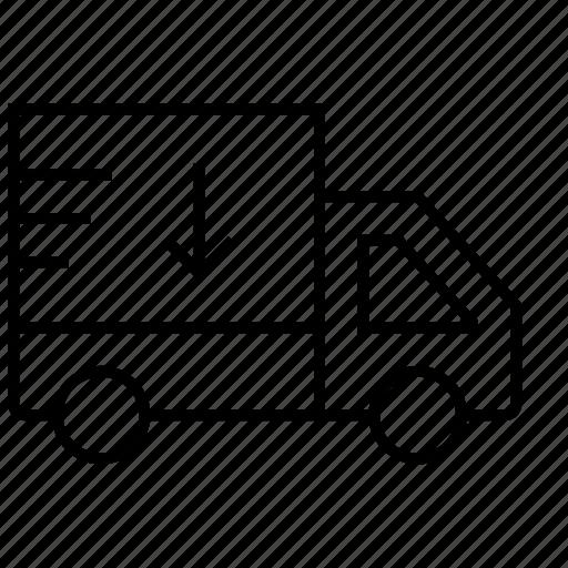 car, delivery, deliveryvan, minivan, transport, van, vehicle icon