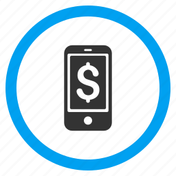 balance, cellphone, dollar, mobile, phone, price, telephone icon