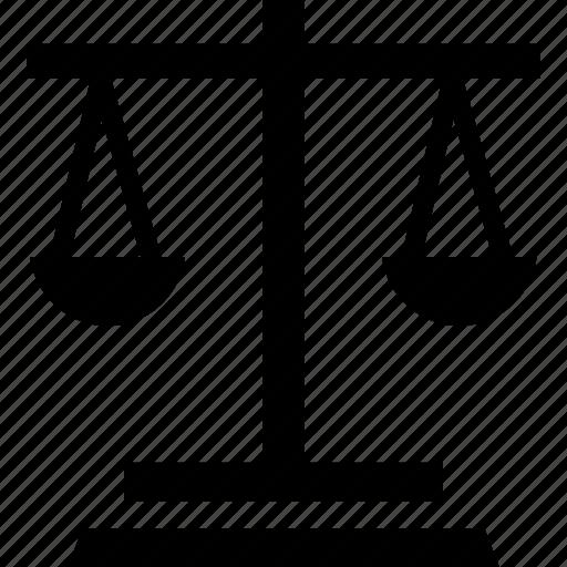 balance scale, equality, equalizer, level icon