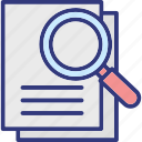 assessments, audits, evaluates, inspection icon
