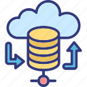 backup solutions, backup system, database recovery, server backup icon