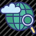 cloud communication, cloud computing, cloud network, cloud technology icon