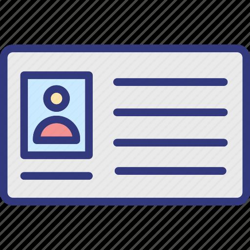 employee badge, employee card, id card, identification card icon