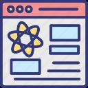 data analysis, data analytics, data driven science, data engineering icon