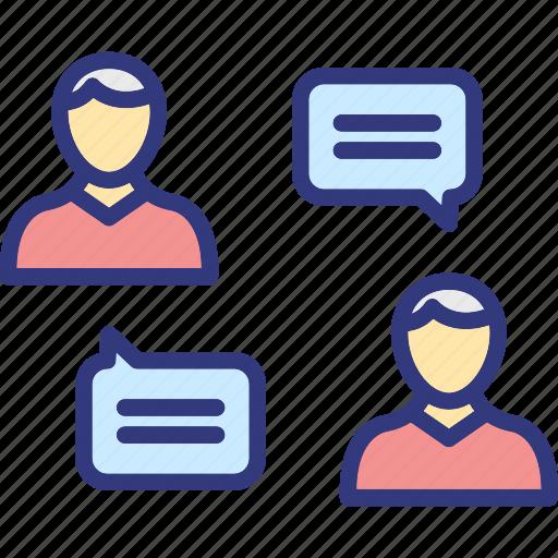 communication, consultation, customer relationship, meeting icon