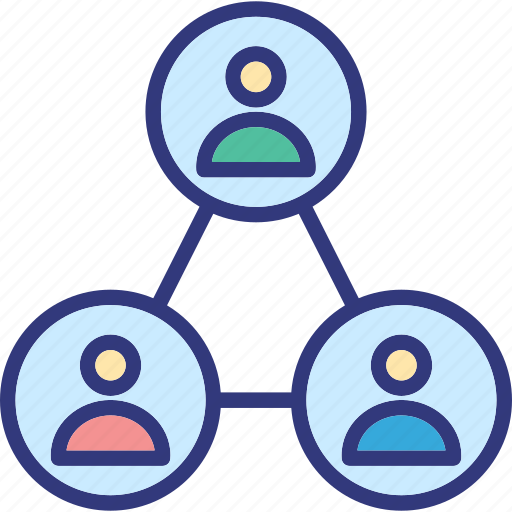 employees, lower position, subordination, subservience icon
