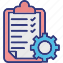 business process, document processing, order management, order processing icon