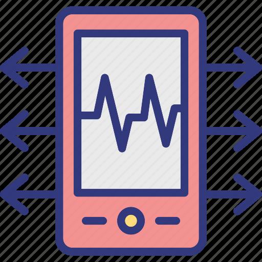 android app development, app creation, mobile app development, mobile app process icon