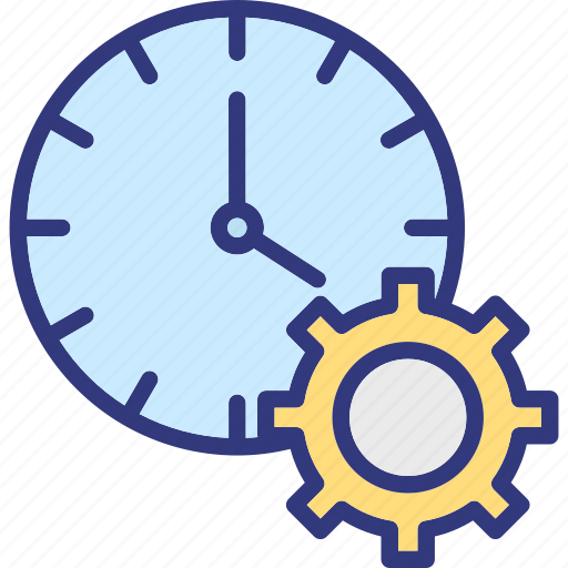 effective planning, time analysis, time control, time management icon