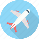 aeroplane, aircraft, airplane, flight, jet, transportation icon