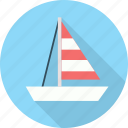 boat, cruise, ocean, sailing, sea icon