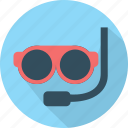 diving, scuba, sea, travel, underwater icon