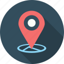 gps, location, location pin, map, navigation, pin icon