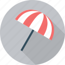 beach, holiday, summer, sun, umbrella icon
