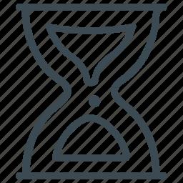 hour glass, hourglass, loading, progress, timer, wait icon