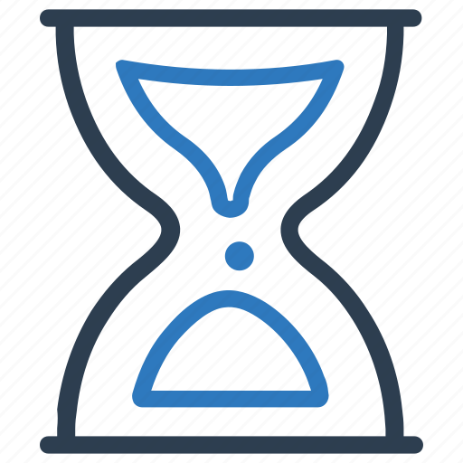 clock, glass, hour, hourglass, sand, sandglass, timer icon