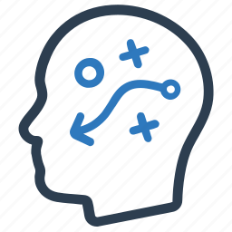 decision, planning, strategy, tactic icon
