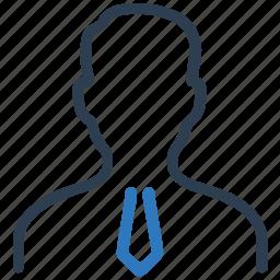 business, businessman, man, tie, user icon