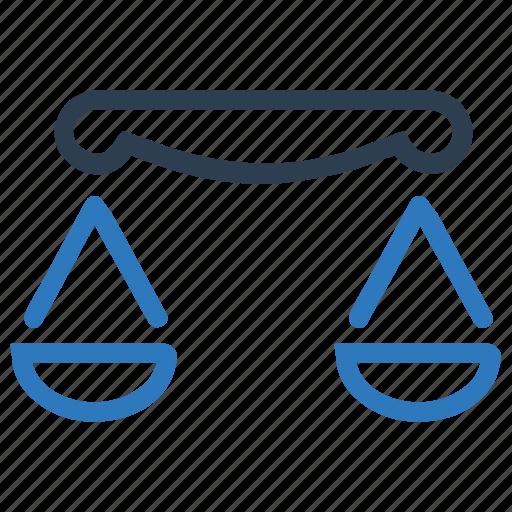 balance, measurement, scale icon
