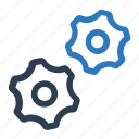 gear, service, settings, tools icon