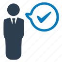 approved, business task icon